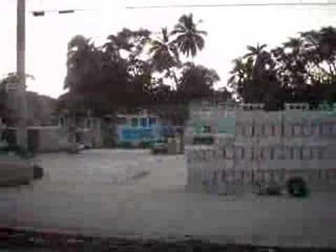 Street of Port-au-Prince, short graveyard sighting