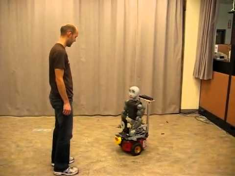A robot named Bandit can make noises, move around