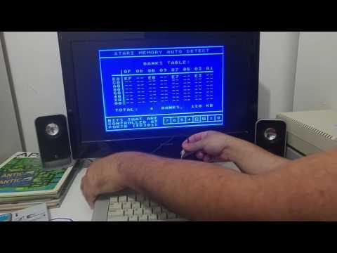 External 320XE/576 memory module for the Atari XE machines