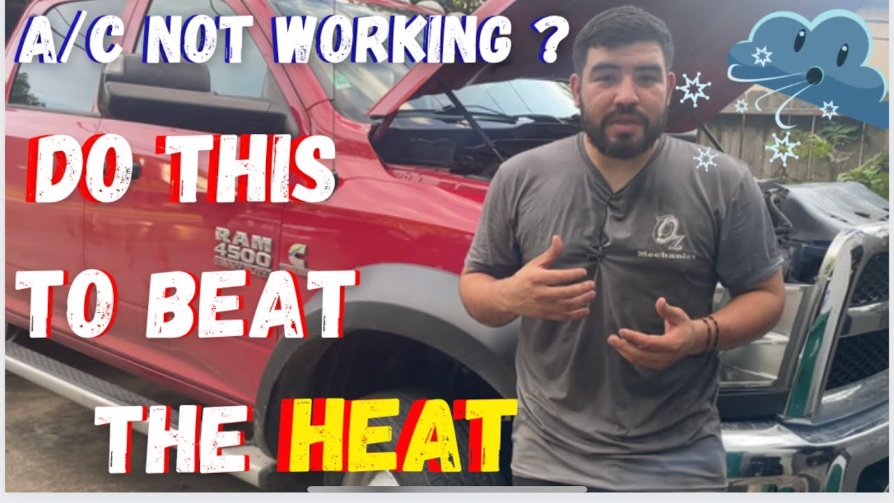 Download Fixing a/c that just doesn't blow !!!