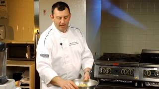 Sargent Choice Cooking: Yellow Gazpacho With Spicy Shrimp