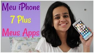 MEU IPHONE 7 PLUS + APPS