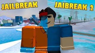 JAILBREAK vs JAILBREAK 2 (Fugitives) | Roblox