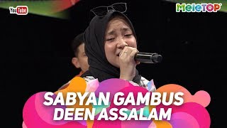 [4.20 MB] Sabyan Gambus Deen Assalam | Persembahan Live MeleTOP | Nabil & Tya Ariffin