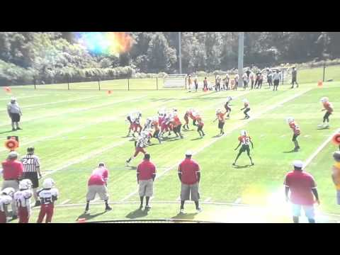 Justin Harvey Highlights 2015 Mustangs Football