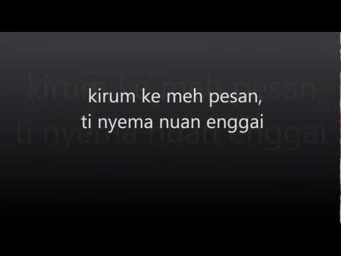 Tanda Tanya ( Iban ) Mp4 With Lyrics