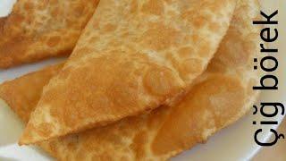 Çi börek 🔹️💯Eskişehir'in orginal çiğ  böreği /bu kadar lezzetlisini yemedim!