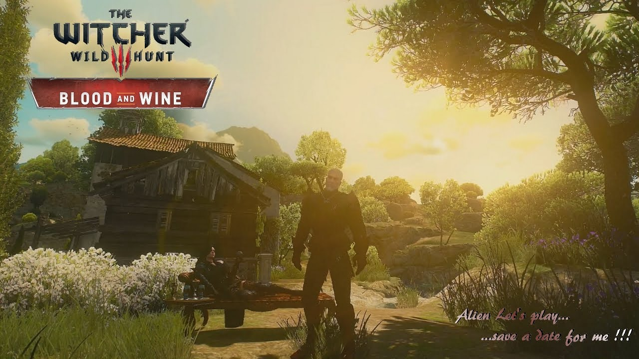 witcher 3 blood and wine ende