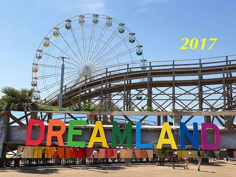 Dreamland amusement park Margate 2017