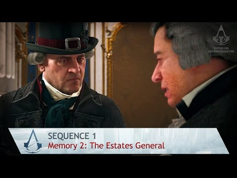 Assassin's Creed: Unity - Mission 2: The Estates General - Sequence 1 [100% Sync]
