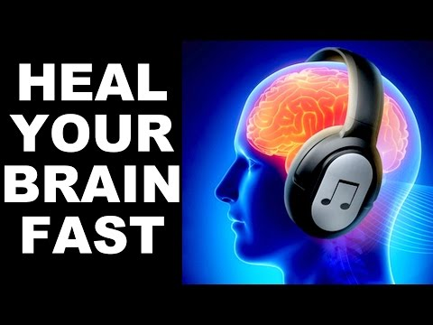 BRAIN HEALING SOUNDS : DOCTOR DESIGNED: FOR STUDY,MEDITATION,MEMORY, FOCUS : 100% RESULTS !