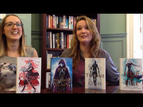 Sarah J Maas reveals her favourite UK Throne of Glass cover