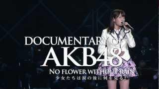 """AKB48の2012年を追ったドキュメンタリー映画が、 2013年2月1日(金)より全国公開。 少女たちが涙の後にみた""""夢""""とは? 人気絶頂のさなか、創立以..."""