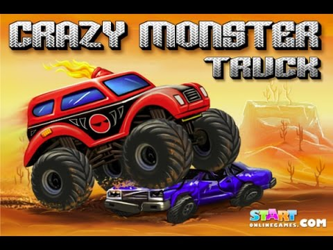 Crazy Monster Truck Crazy Truck Games Monster Truck Games