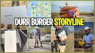 *NEW* Fortnite: IRL DURR BURGER ANOMALY STORYLINE SO FAR! | (Secrets,Live Footage, and More Agents!)