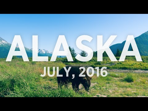 Road trip in Alaska - Summer 2016