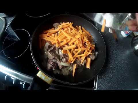 вкусный плов на сковороде