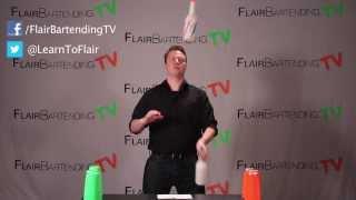 Juggling 3 Bottles: Step 2 (Flair Bartending TV Lesson 100)