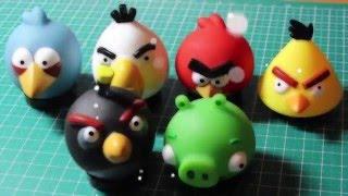 ANGRY BIRDS штампики для ЛД + новые развороты