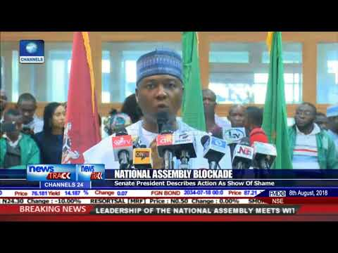 Saraki Describes National Assembly Blockage As Show Of Shame