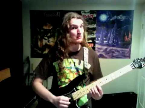 Sewer Surfin (Turtles in Time) played on electric guitar