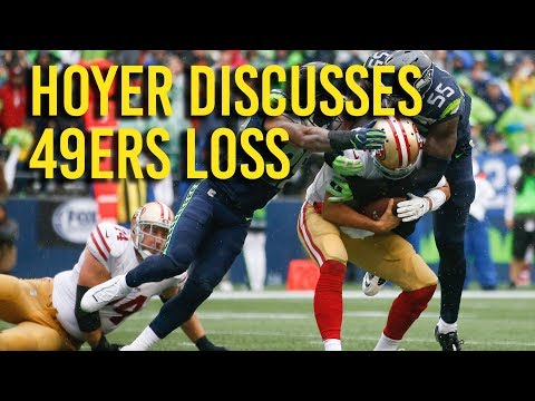 49ers Week 2: Brian Hoyer discusses loss to Seattle