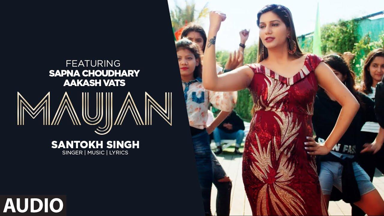 Maujan (Audio) Aakash Vats | Santokh Singh | Sapna Chaudhary | Komal Arts | New Punjabi Songs