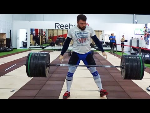 Training in clean&jerk 190kg/418lb. Weightlifting motivation A.TOROKHTIY