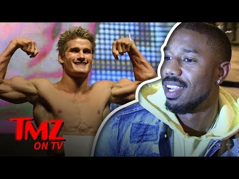 Michael B. Jordan Plays Dumb  TMZ TV