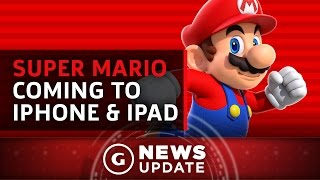 Mario Coming to iPhone and iPad in Super Mario Run - GS News Update