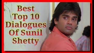 Top 10 Best Dialogues Of Sunil Shetty , WhatsApp Status , Best Of Bollywood { ßilent Love }