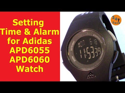 Alarm Apd6060 Time How And To Adidas Set Apd6055Adp3264 Of shQdxrtC