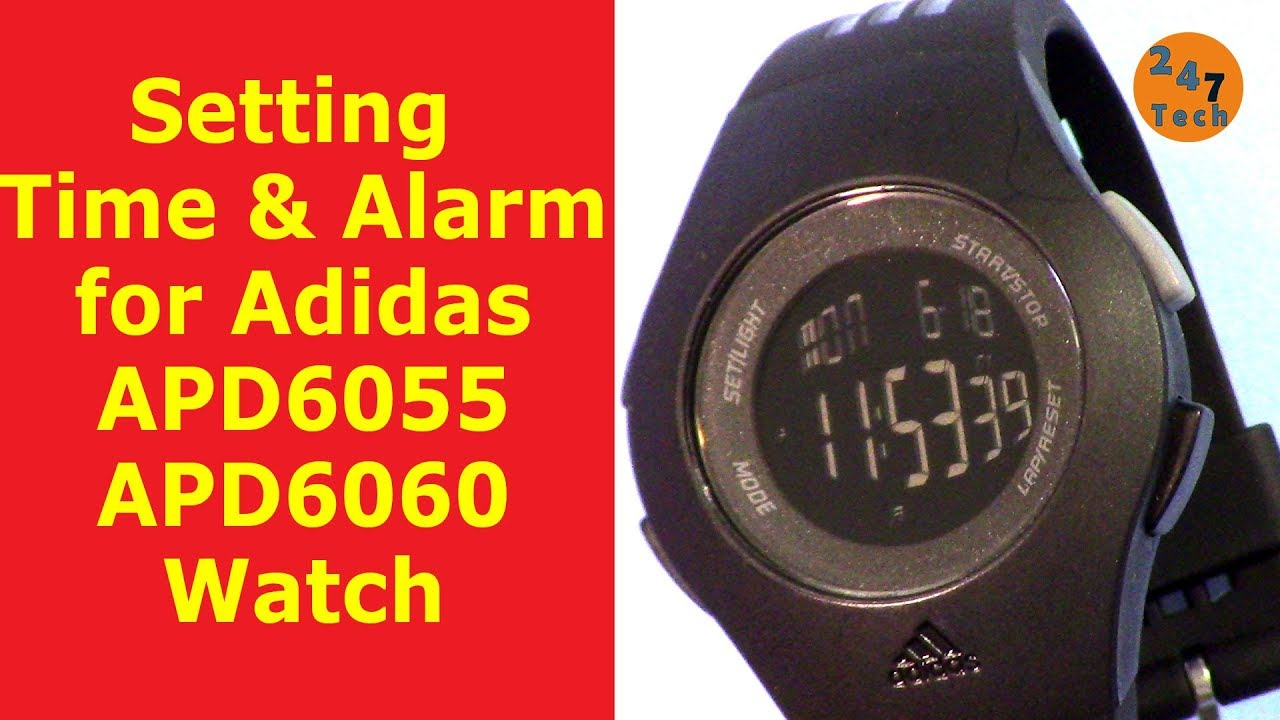 Download free pdf for adidas adp6007 watch manual.