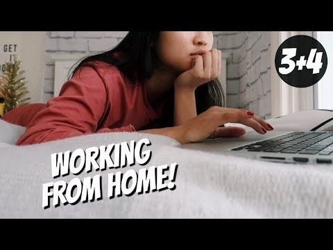 Being Productive & Working From Home | KRISMAS DAY 3 & 4
