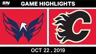 NHL Highlights | Capitals vs Flames – Oct 22, 2019
