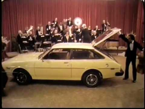1976 Toyota Corolla Gt Liftback Commercial Youtube