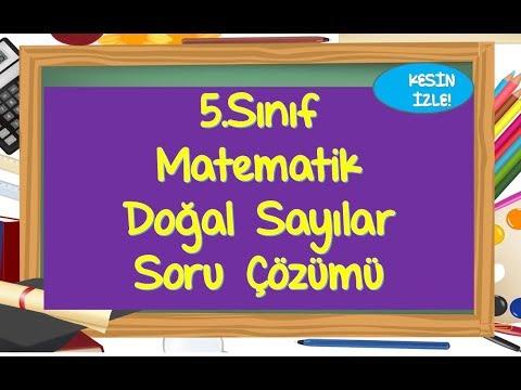 5.Sınıf Doğal Sayılar Soru Çözümü-Yardımcı Öğretmen