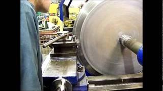 Metspin Ltd Stanley Lathe Trepanning Aerospace Components