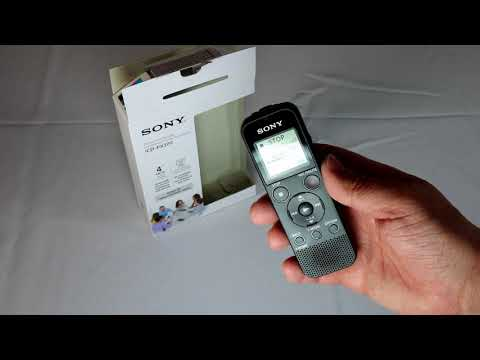 Review: Sony ICDPX370 Mono Digital Voice Recorder with Built-in USB, black