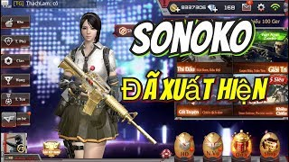 CrossFire Legend: NHÂN VẬT VIP SONOKO// PHI TIÊU VÀ ĐÁ XOÁY