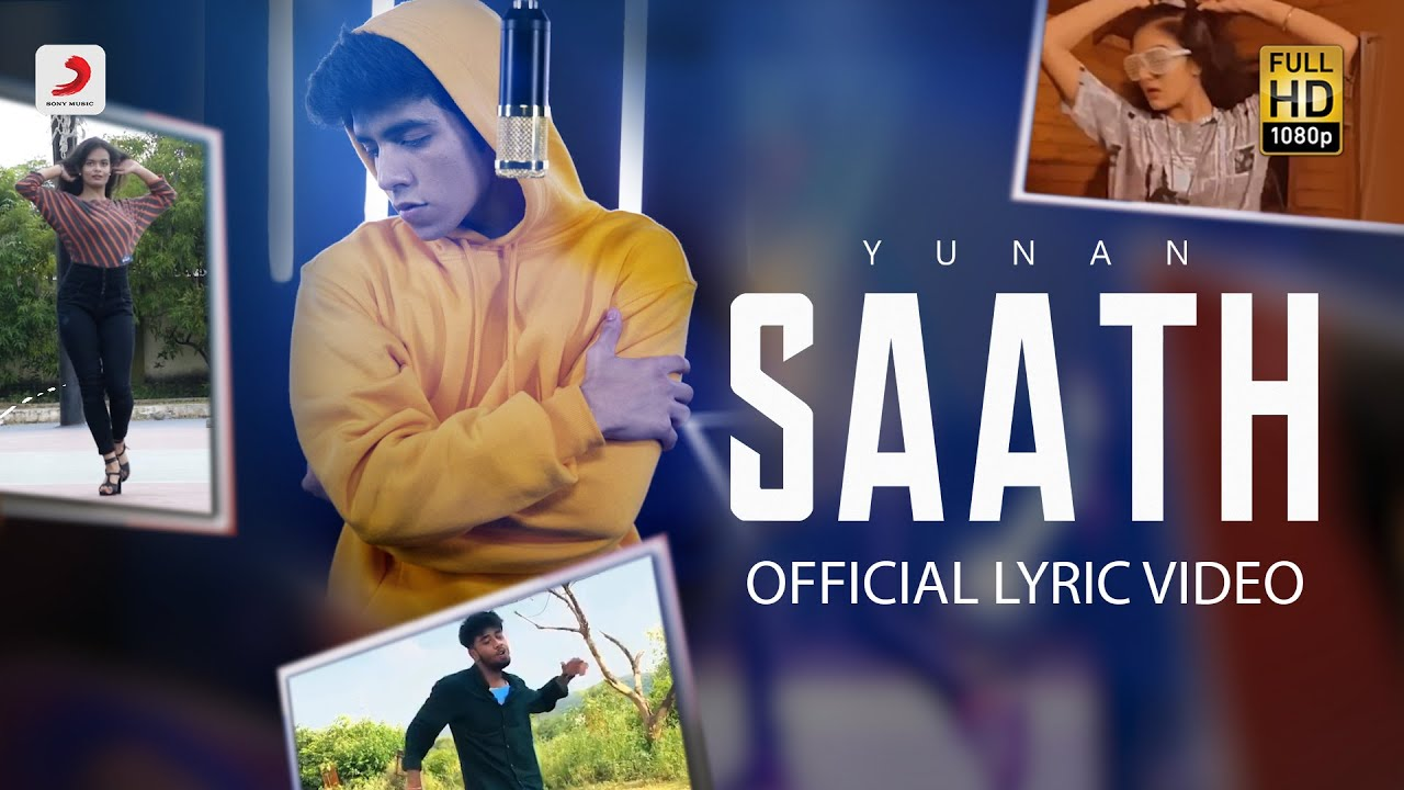 Saath - Official Lyric Video | #JioSaavnKeSaath contest | Yunan