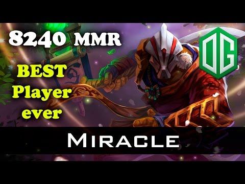 Miracle 8000+ Juggernaut 22-0 Dota 2