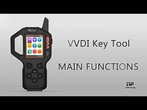 VVDI Key Tool main functions - NazirProg