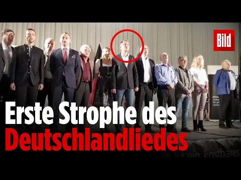"""AfD singt """"Deutschland, Deutschland, über alles"""""""