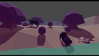 Low poly game concept in Unity (and some animation in 3ds max)
