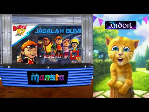 OST BoBoiBoy Season - Talking Ginger - KOTAK: Jagalah Bumi