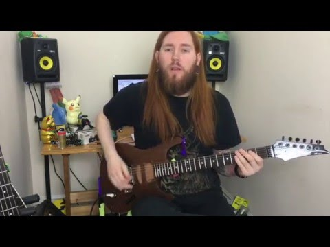 Top 10 classic metal riffs. Metal Guitar for Beginners