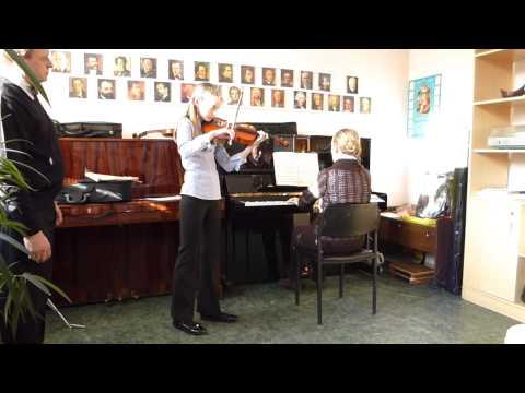 Открытый урок. Класс скрипки, преподаватель - Кучерявенко В.В.