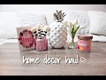 Spring Home Decor Haul (rose gold finds!) & Decor Discovery Subscription Unboxing! 2017