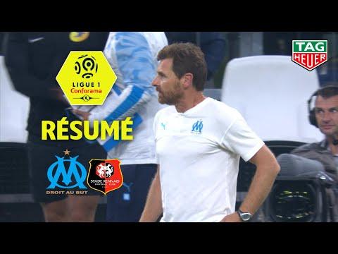 Olympique de Marseille - Stade Rennais FC ( 1-1 ) - Résumé - (OM - SRFC) / 2019-20
